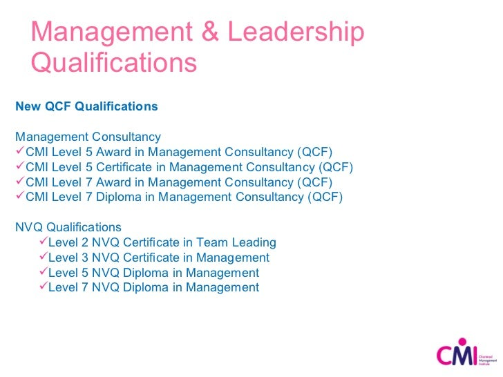 cmi level 5 unit 5002 Study our level 5 management and leadership diploma course online at home with the uk's leading not-for-profit distance learning provider  1 cmi assignment per unit.