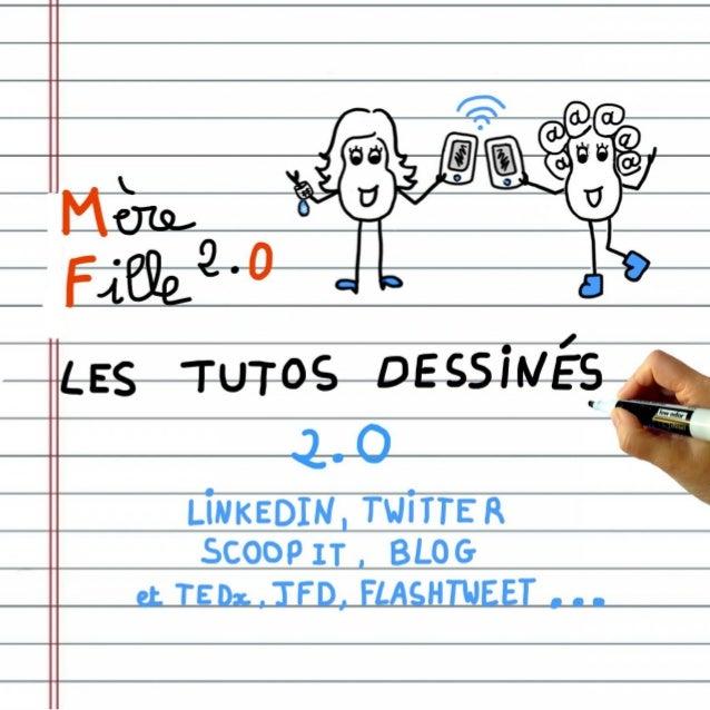 Retrouvez LinkedIn Twitter Scoop it Blog ------- Les conférences digitales JFD TEDx L'Echappée Volée ------ @FlashTweet