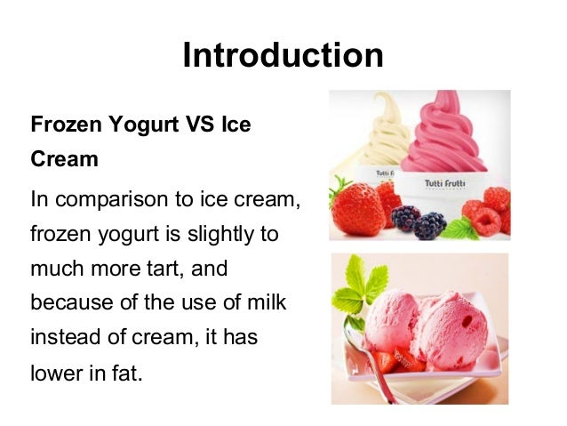 difference between fresh yogurt slide and a prepard slide Yogurt yoghurt is produced by the controlled fermentation of milk by two   traditionally prepared kefir contained 1-2% alcohol, due to the.