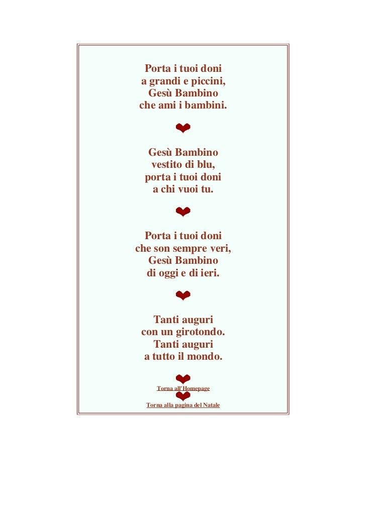 Poesie Di Natale Corte Per Bambini.Tutto Per Natale Filastrocche Poesie Ninne Nanne Ecc