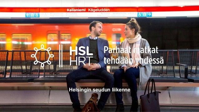 Helsingin seudun liikenne