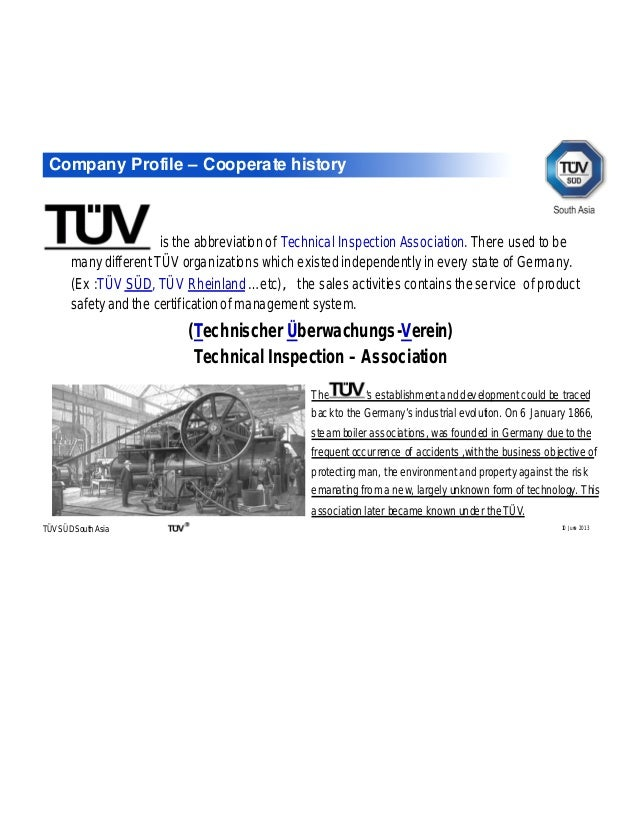 Tuv sud product service Electrical & Electronics