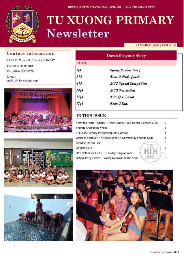 1/4 Spring Concert (eve) 5/4 Term 2 Cbubs finish 8/4 MP2 Speech Competition 14/4 MP3 Production 17/4 TX's Got Talent 17/4 ...