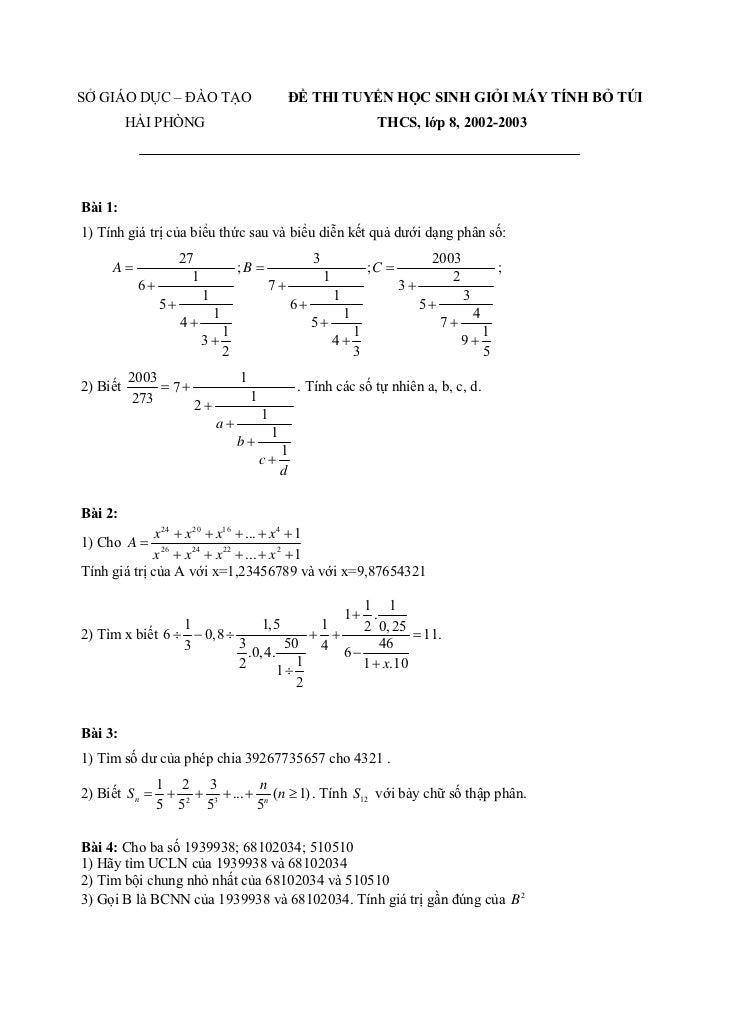 Bài 5:1) Cho P( x) = x 4 + ax3 + bx 2 + cx + d . Biết P (1) = 5; P (2) = 14; P (3) = 29; P (4) = 50 .Tính P (5); P (6); P ...