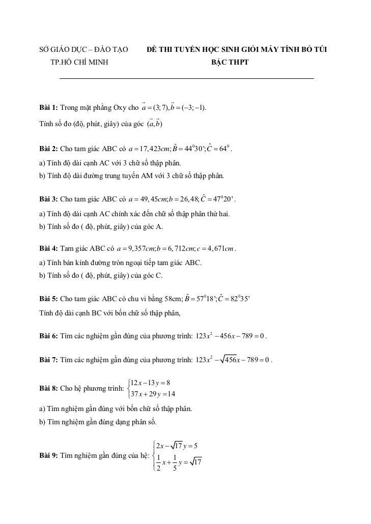 Bài 10: Tìm nghiệm đúng dưới dạng phân số của hệ:⎧ 4 x + y − 2 z = −1⎪⎨ x + 6 y + 3z = 1⎪5 x + 4 y + z = −7⎩              ...
