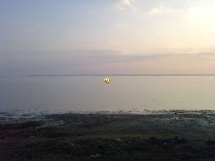 salt lake sunset Turkey