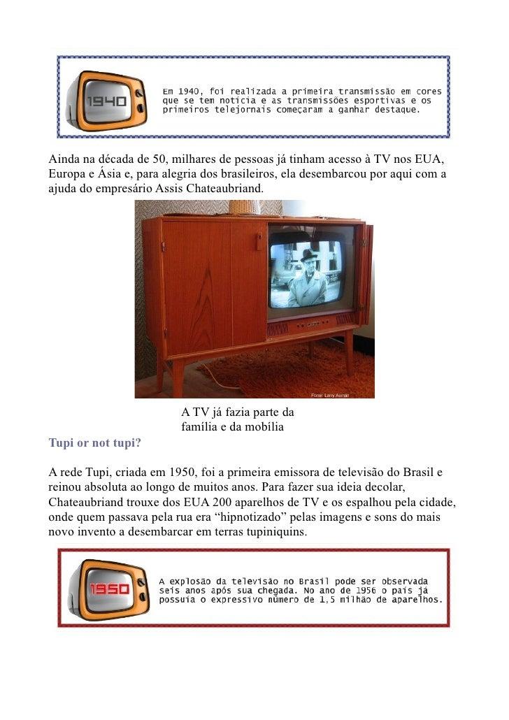 Tv for Mobilia anos 50