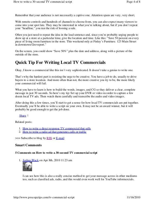 Scripts pdf tv