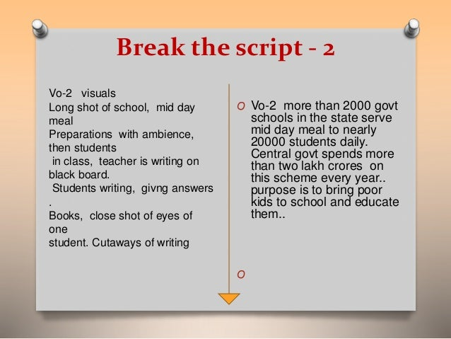 How to Write a Commercial Script