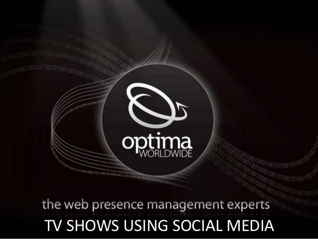 Cool Optima Image HereTV SHOWS USING SOCIAL MEDIA