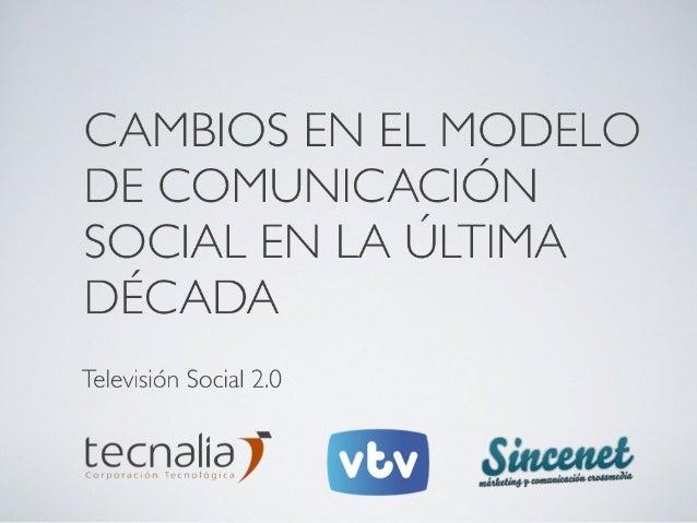 Televisión Social 2.0