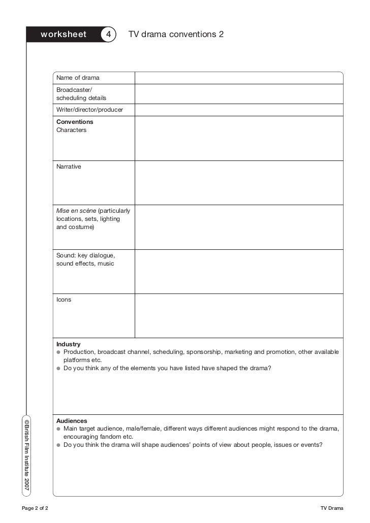 Free Drama Worksheets Resources & Lesson Plans | Teachers Pay Teachers