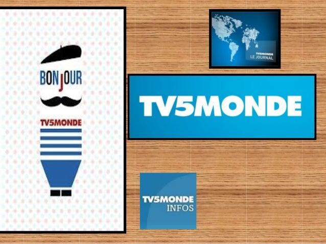 TV5 Monde est une chaîne de télévision internationale francophone basée à Paris, diffusant des programmes dans le monde en...