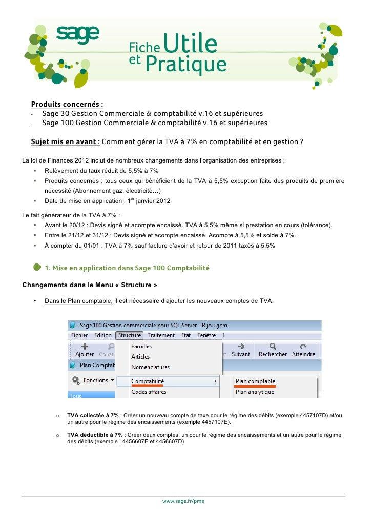 Produits concernés :   -  Sage 30 Gestion Commerciale & comptabilité v.16 et supérieures   -  Sage 100 Gestion Commerciale...