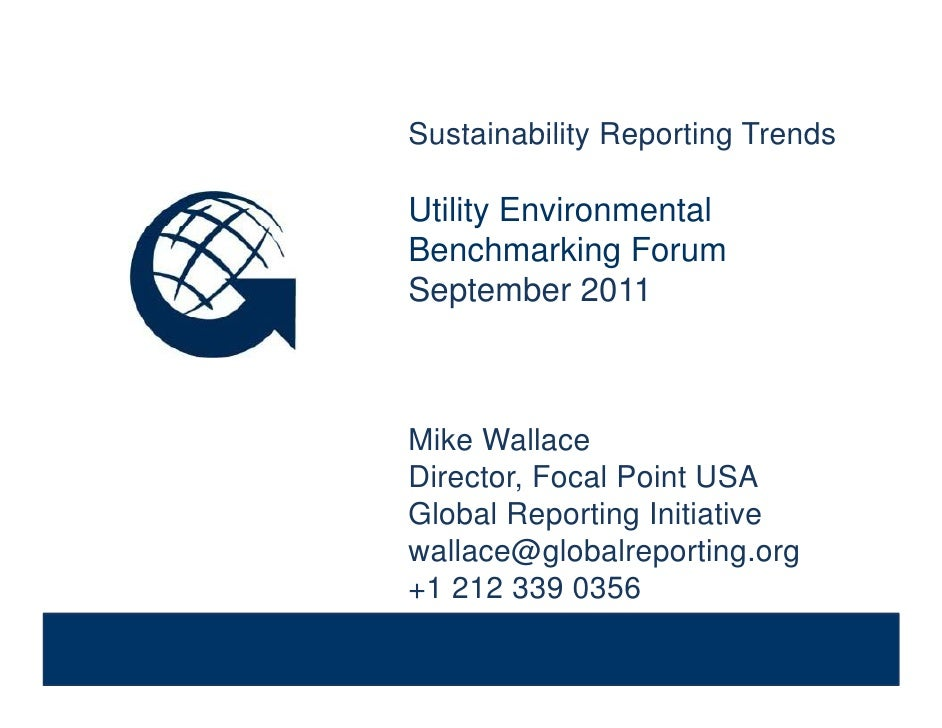 Sustainability Reporting Trends              Sustainability Reporting Trends              Utility Environmental           ...