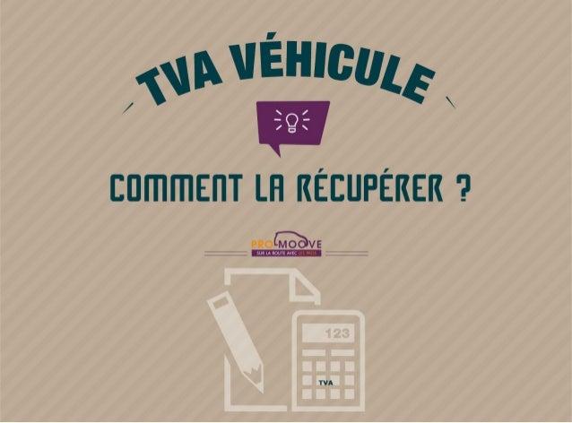 TVA véhicule, comment les entreprises peuvent la récupérer - Pro-Moove