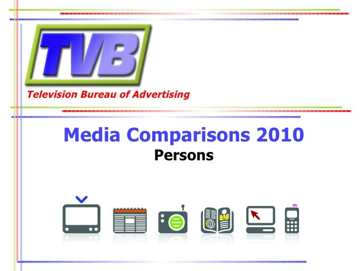 Media Comparisons 2010 Persons