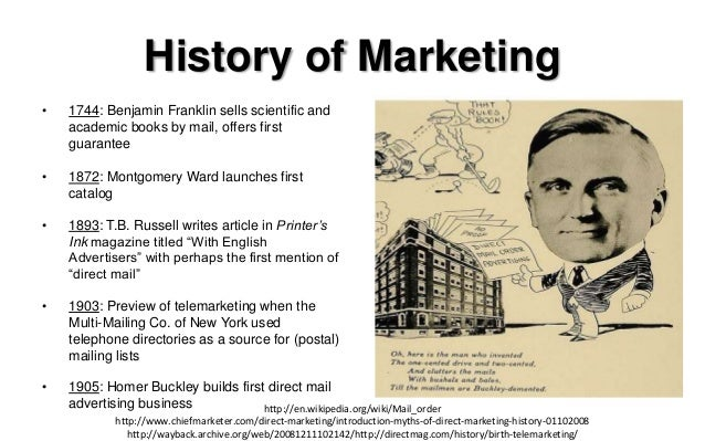 an introduction to the history of marketing The science of persuasion, compliance, marketing & propaganda from a psychological perspective.