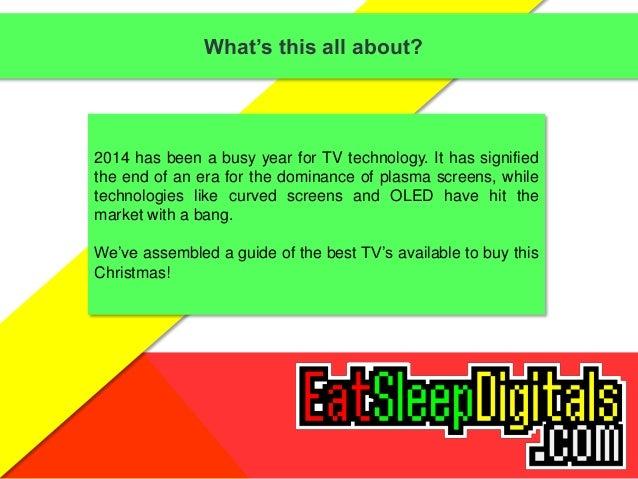 tv buying guide for christmas 2014 rh slideshare net tv buying guide 2018 tv buying guide 2016