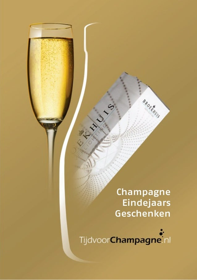 Tijdvoorchampagne Eindejaarsgeschenken 2012