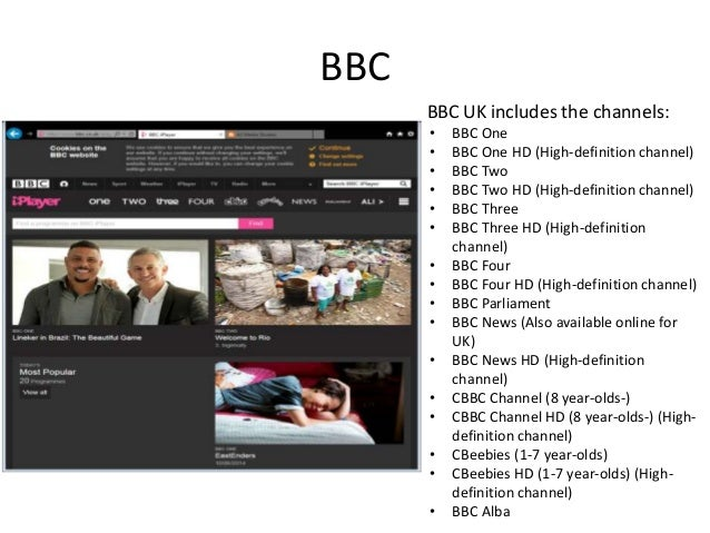 tv channel website research george mckillop 2