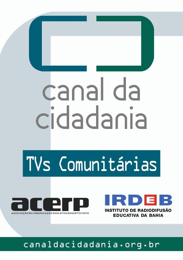 TVs Comunitárias canaldacidadania.org.br