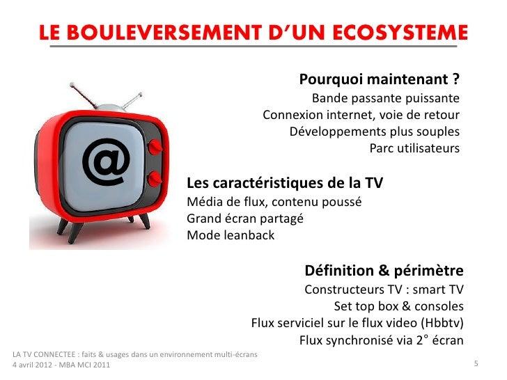 la tv connectee faits et usages dans un environnement multi crans. Black Bedroom Furniture Sets. Home Design Ideas