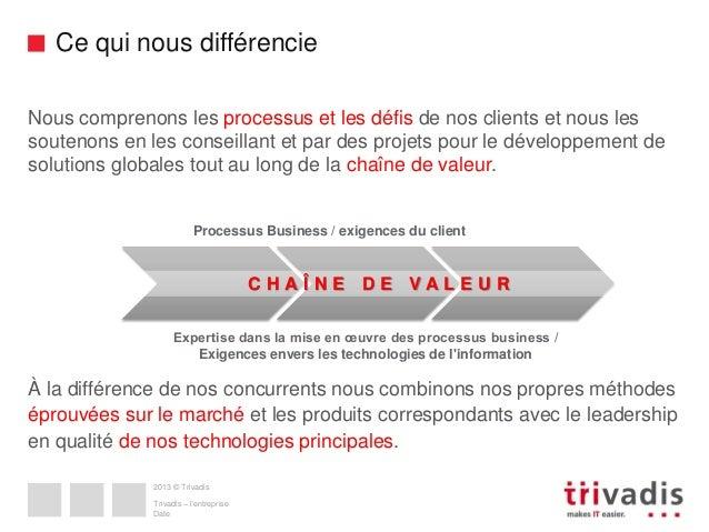 Ce qui nous différencie Nous comprenons les processus et les défis de nos clients et nous les soutenons en les conseillant...