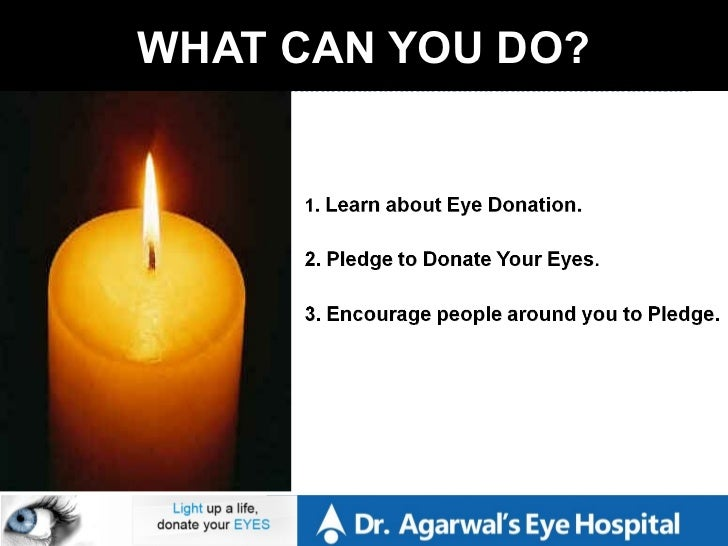 essay on eye donation Eye donation- a noble act, with an added responsibility – s balachandran, cgm, sbt i am just watching the 200th episode of the surya tv's popular programme.