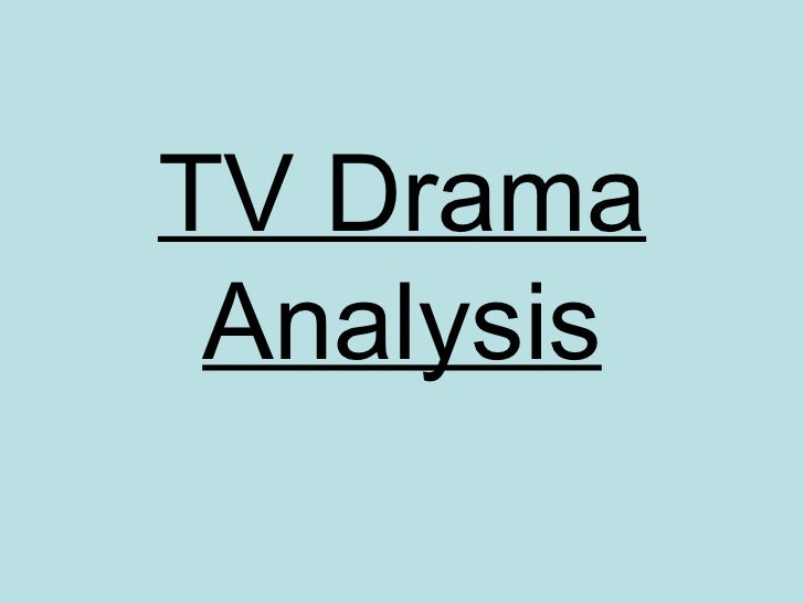 an analysis of drama The karpman drama triangle and the book a game free life is used worldwide in psychiatry, counseling psychology, and business development workshops.