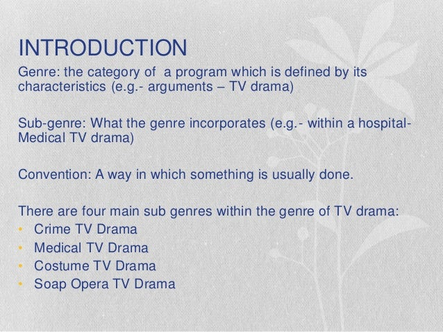 conventions of drama Year 11 gcse media studies revision booklet tv crime drama  conventions of tv crime drama shows including typical characters, typical storylines etc.