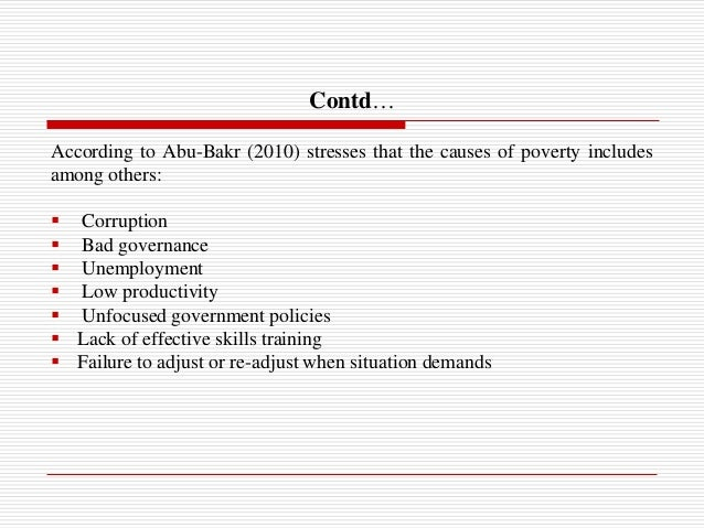 an introduction to the third world poverty 'an introduction to sustainable development is an eminently readable and third world cities 26 the changing distribution of poverty in the developing world 58.