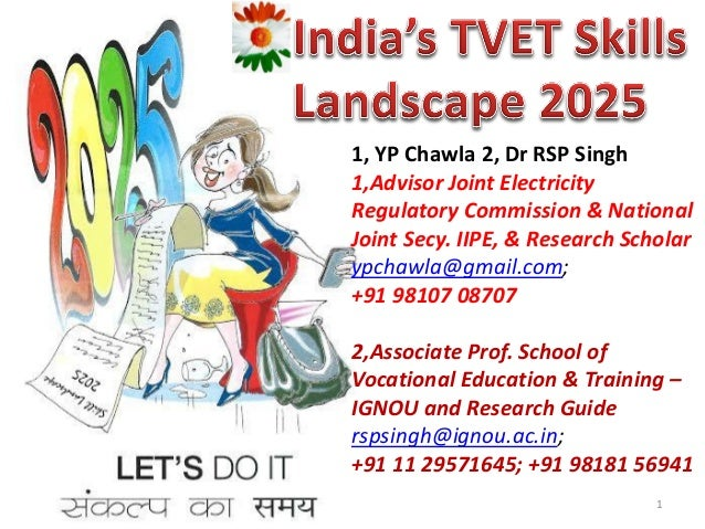 1, YP Chawla 2, Dr RSP Singh 1,Advisor Joint Electricity Regulatory Commission & National Joint Secy. IIPE, & Research Sch...