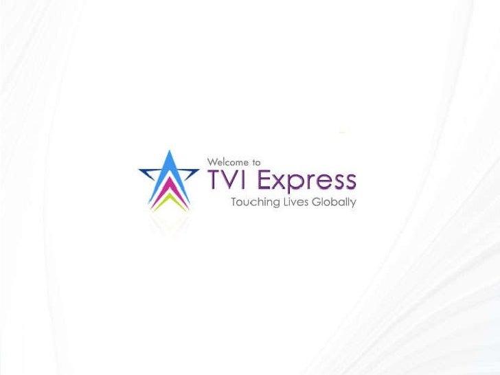 TVI Express - en Francais Slide 1