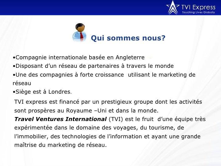 TVI Express - en Francais Slide 2