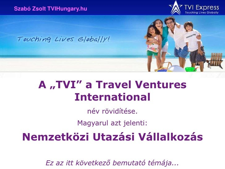 Tvi Express Hungary Slide 3