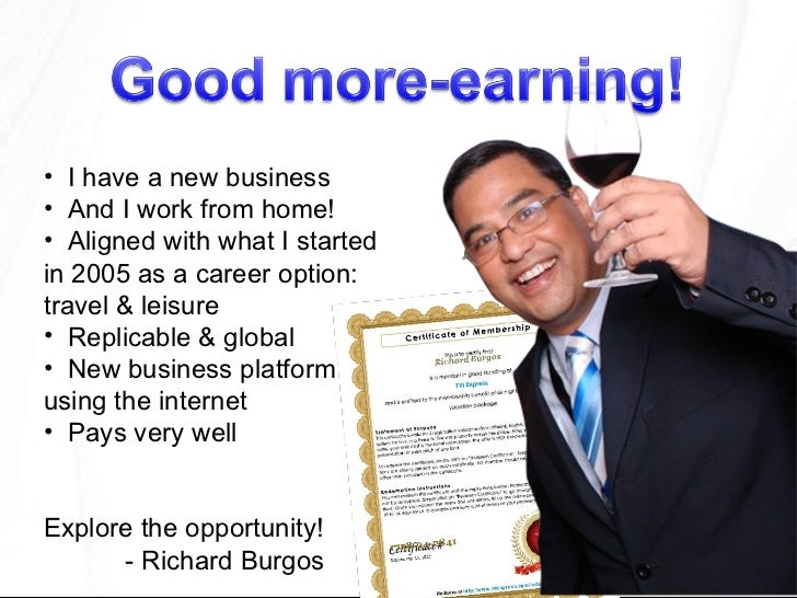 <ul><li>I have a new business </li></ul><ul><li>And I work from home! </li></ul><ul><li>Aligned with what I started in 200...