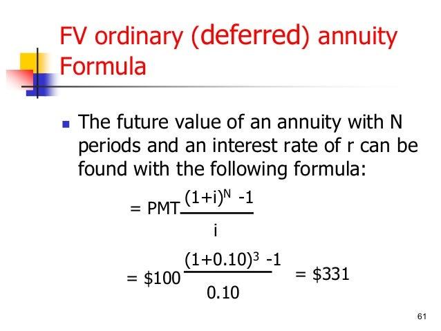 القيمة الزمنية للنقود Tvm