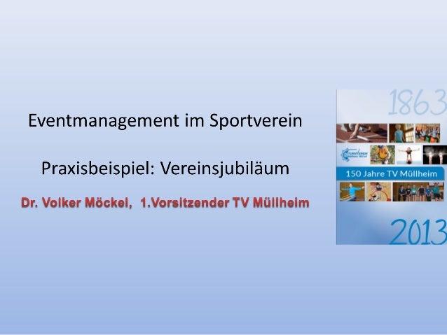 Agenda • Ausgangslage • Praxisbeispiel-Jubiläumsaktivitäten – Kalender – Festakt/Sonderausstellung/Show – Geocache • Erfol...