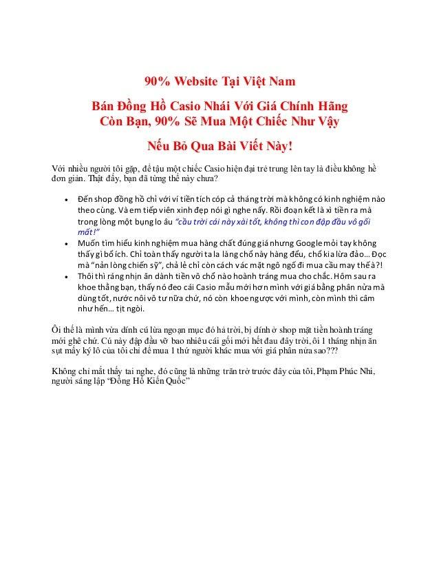 Chỗ nào mua đồng hồcasio ở Sài Gòn - Chỗ nàomua đồnghồ casiotại Hồ Chí Minh 90% Website Tại Việt Nam Bán Đồng Hồ Casio Nhá...