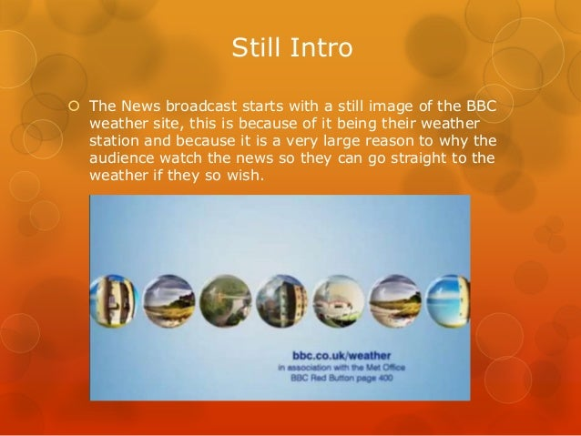 Tv news broadcast analysis