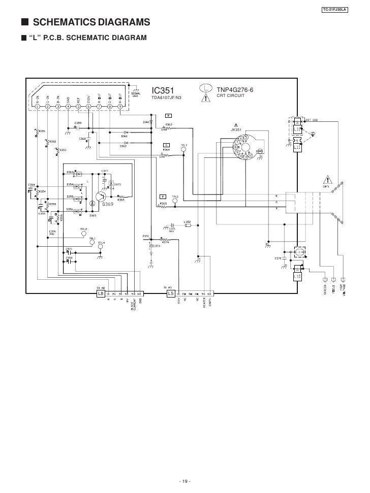 tv panasonic tc 21 fj30la rh slideshare net panasonic tv schematic diagram pdf panasonic washing machine schematic diagram