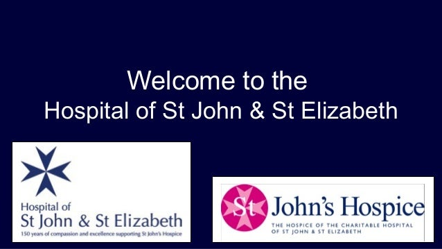 Welcome to the Hospital of St John & St Elizabeth
