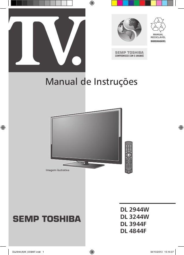 tv semp toshiba dl2944w dl3244w dl3944f dl4844f rh pt slideshare net manual da tv semp toshiba 40 lcd Old Toshiba TV Manuals