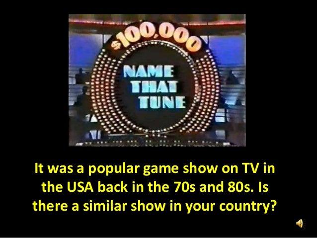 Name That Tune: Tv Series Game Name That Tune