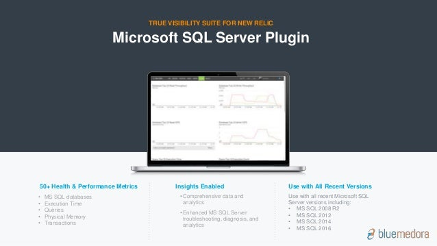 Overview of blue medora new relic plugin for microsoft sql server microsoft sql server sciox Choice Image