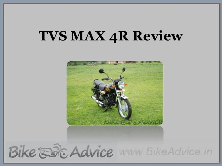 TVS MAX 4R Review<br />