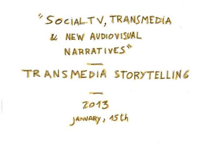 Transmedia Storytelling: about acts, structures and more
