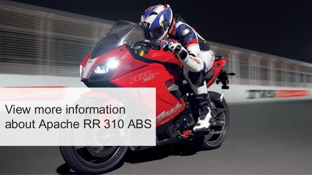 TVS Apache RR 310 ABS: Price in India, Specification & Images