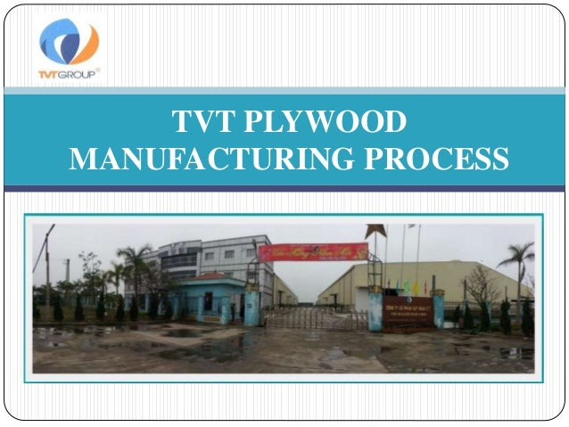 Plywood Plywood Manufacturing Process